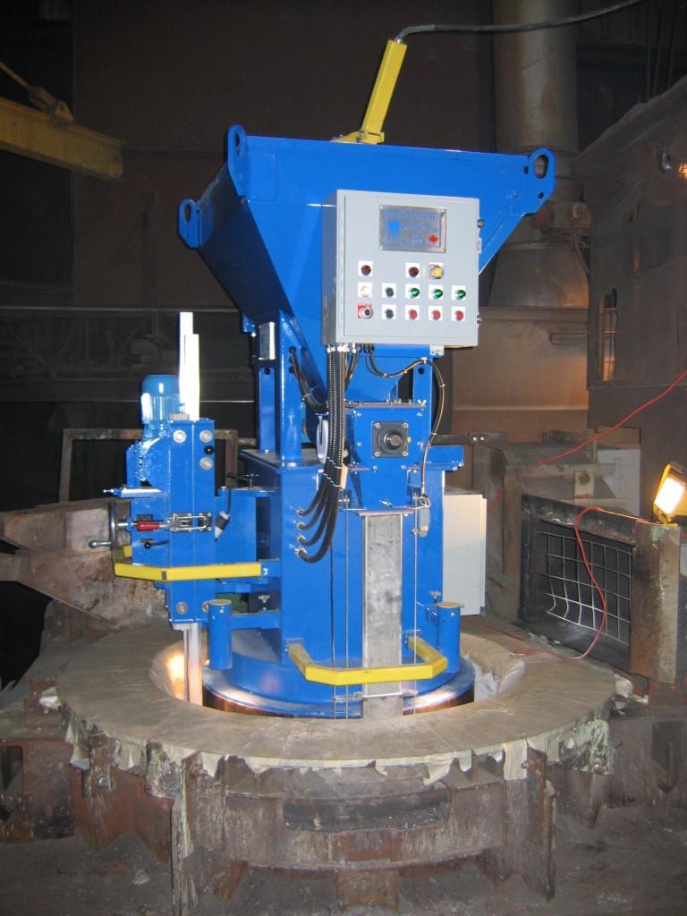 Gradmatic Equipment for Refractory Installation